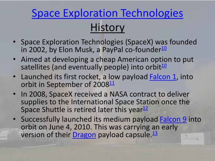 Space Exploration Technologies