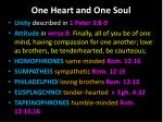 one heart and one s oul2