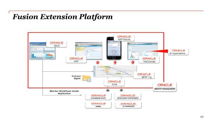 Fusion Extension Platform