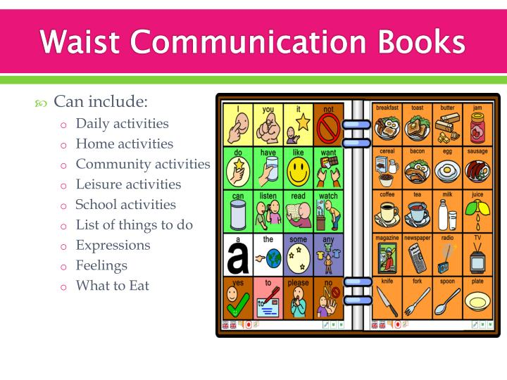 Waist Communication Books