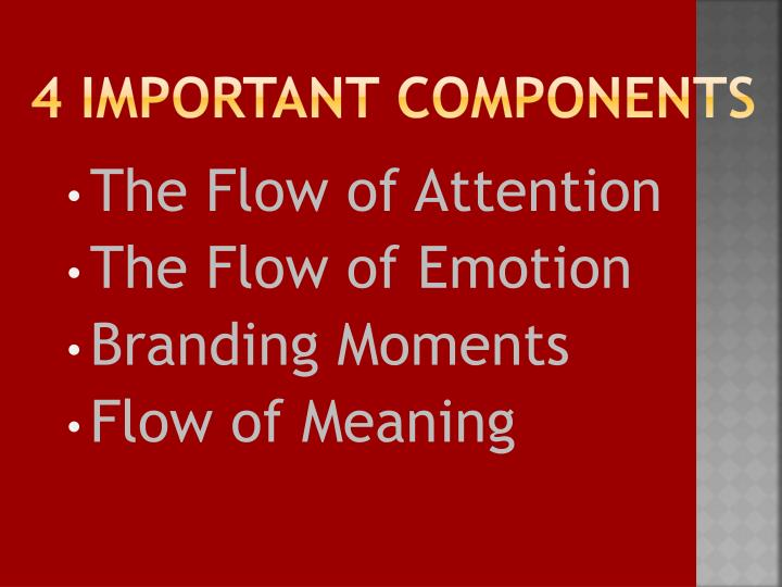 4 important components