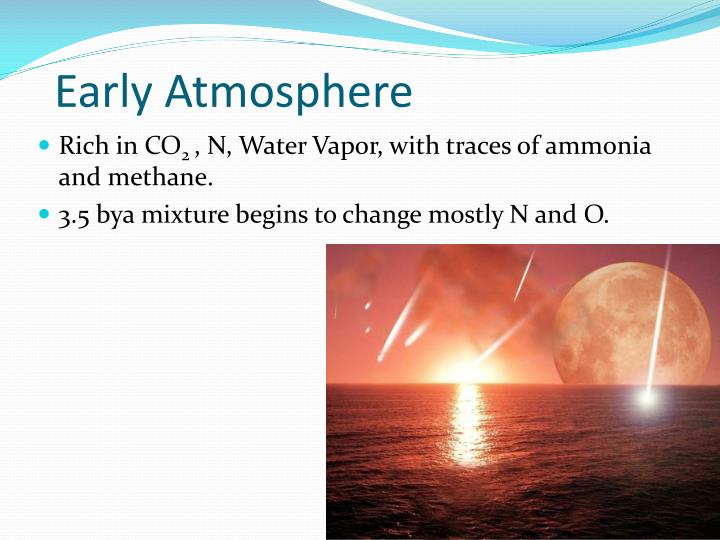 Early Atmosphere