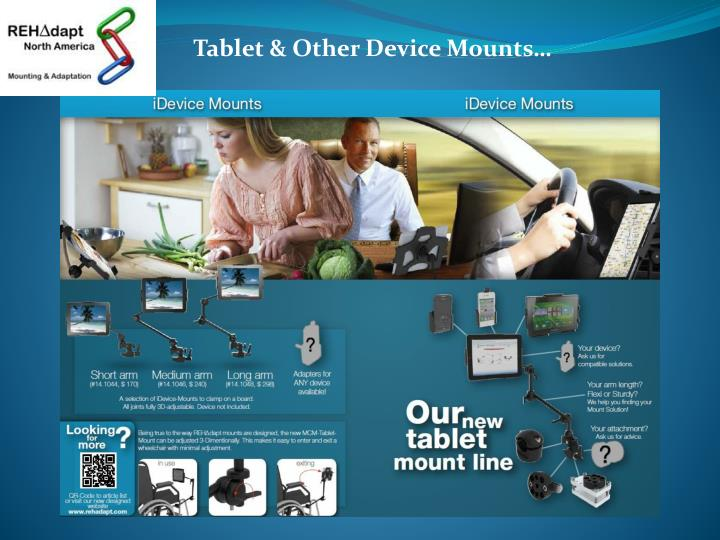 Tablet & Other Device Mounts…