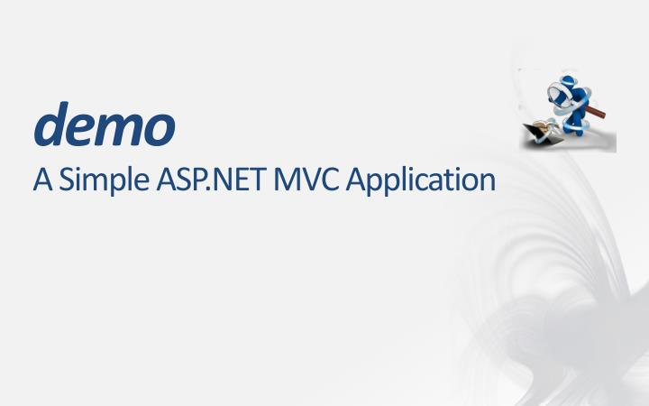 A Simple ASP.NET MVC Application