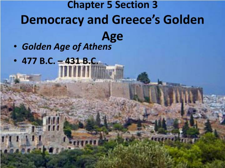 the golden age of athens essay