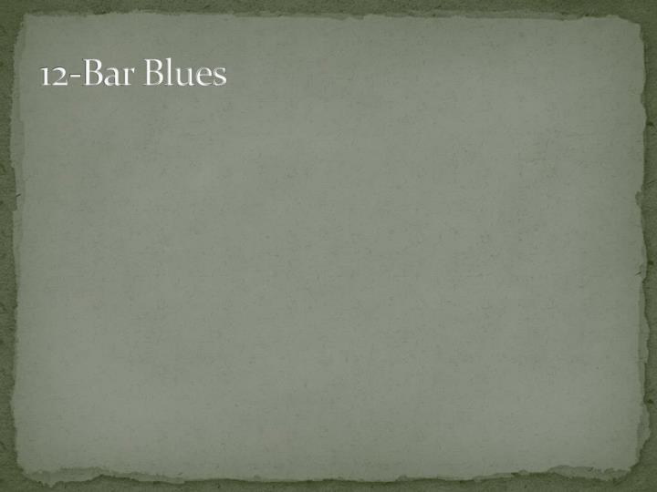 12-Bar Blues