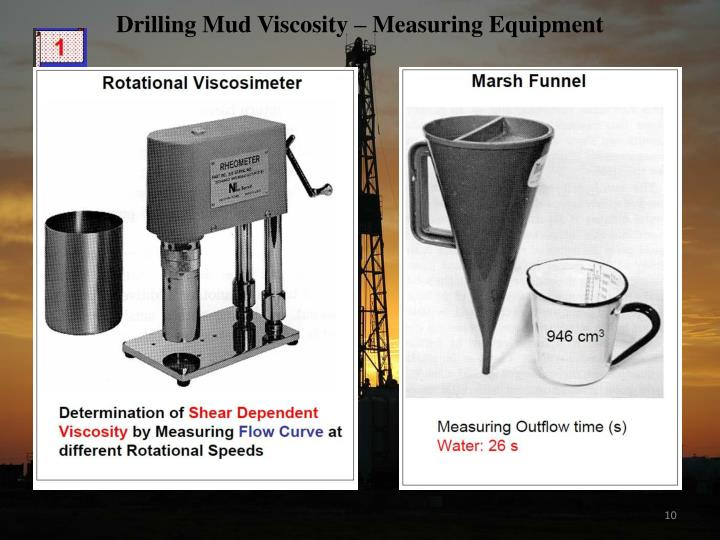 Drilling Mud Viscosity – Measuring Equipment