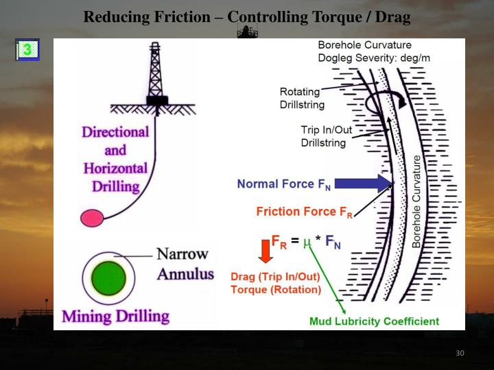 Reducing Friction – Controlling Torque / Drag