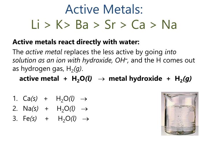 Active Metals: