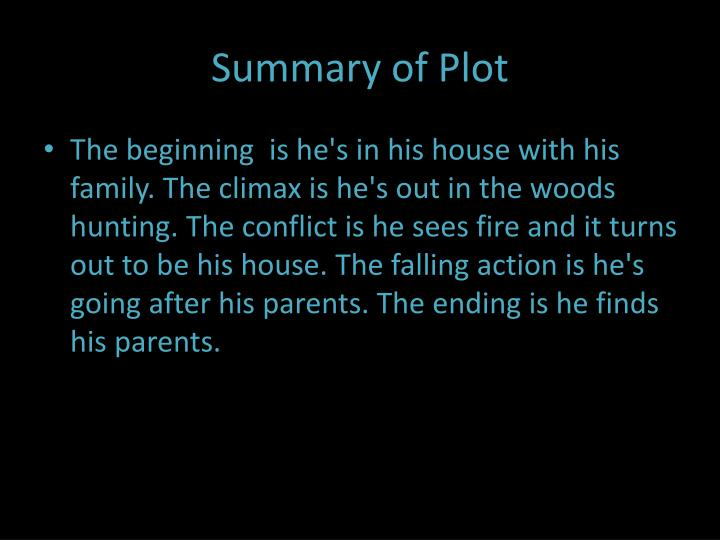 Summary of Plot