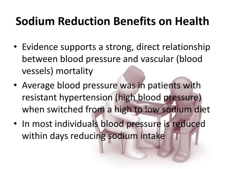Sodium Reduction Benefits on Health
