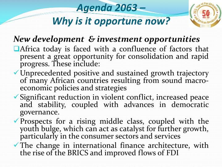 Agenda 2063 –