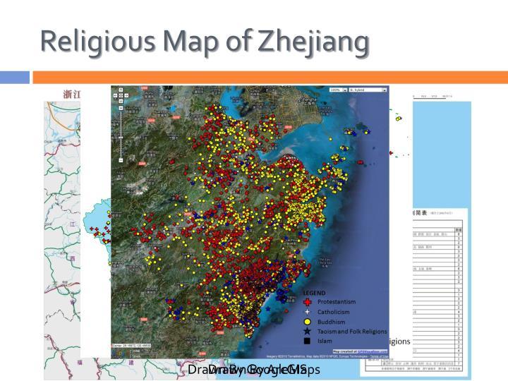 Religious Map of Zhejiang