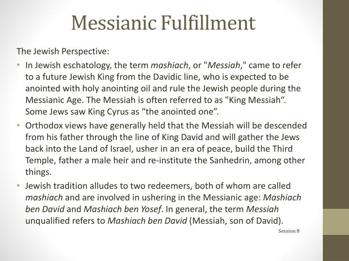 Messianic Fulfillment