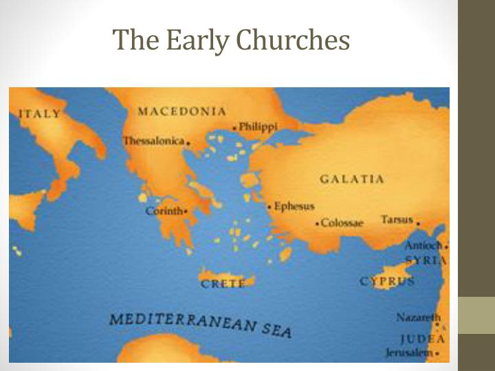 The Early Churches