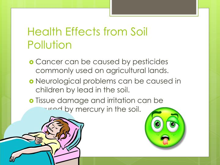 Health Effects from Soil Pollution