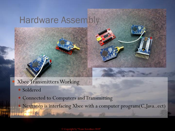 Hardware Assembly