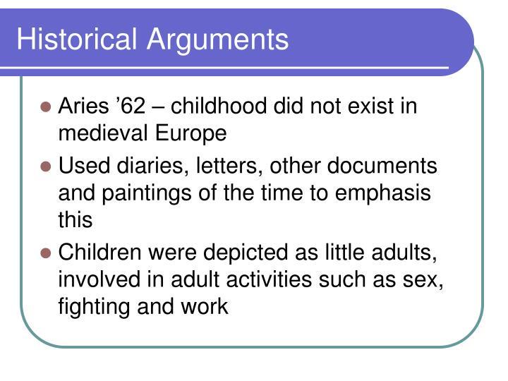 Historical Arguments