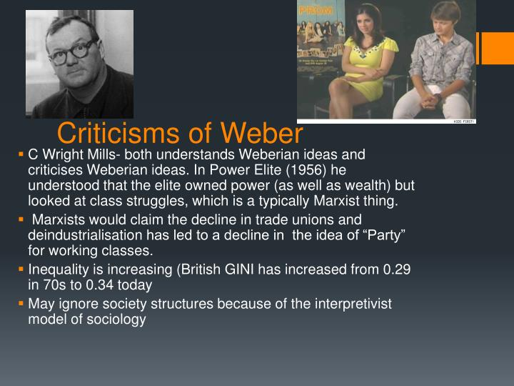 Criticisms of Weber