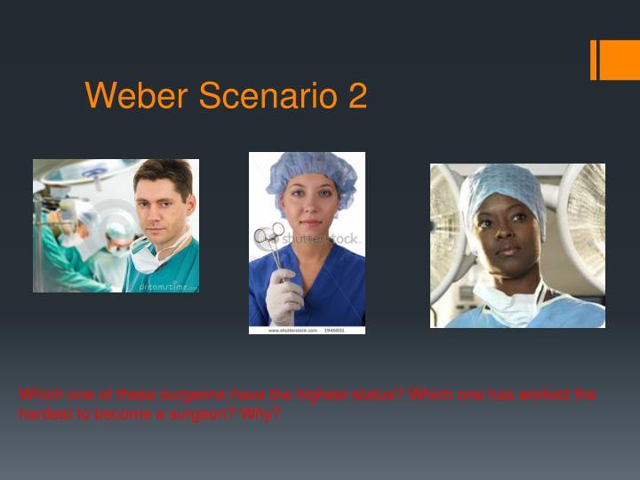 Weber Scenario 2