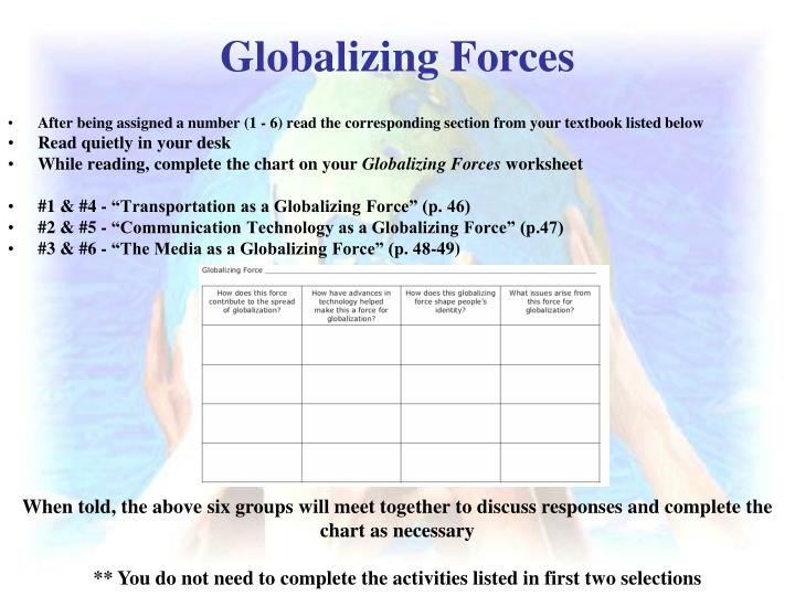 Globalizing Forces