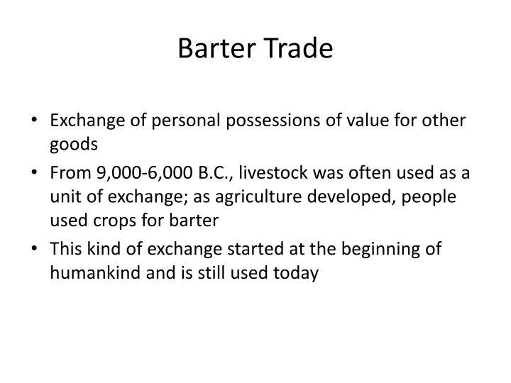 Barter Trade