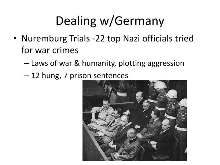 Dealing w/Germany
