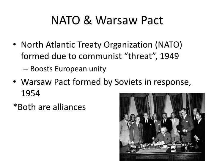 NATO & Warsaw Pact