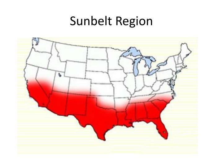 Sunbelt Region