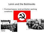 lenin and the bolsheviks