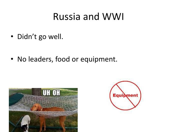 Russia and WWI