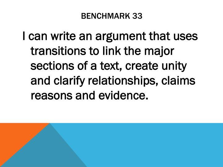 Benchmark 33
