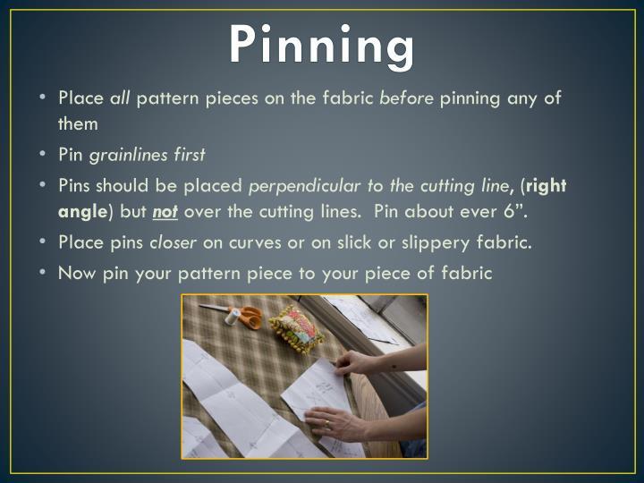 Pinning