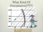what kind of precipitation3