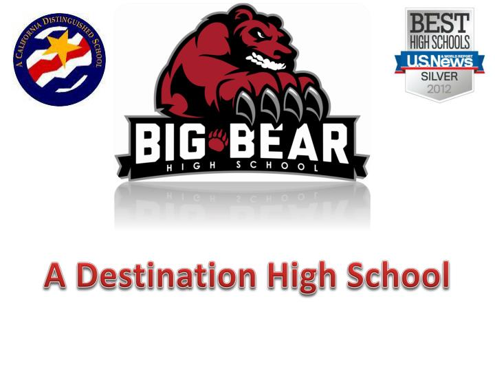 A Destination High School