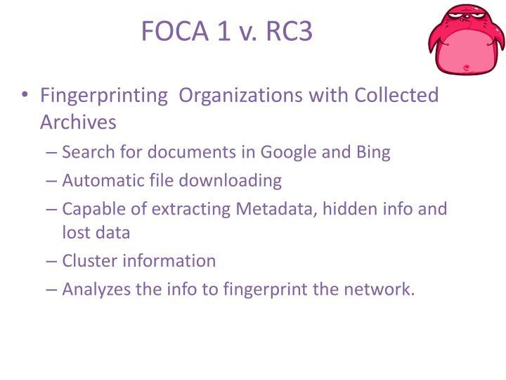 FOCA 1 v. RC3