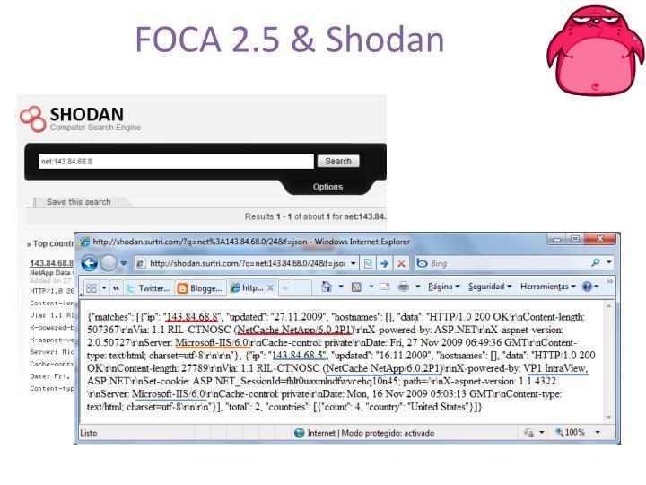 FOCA 2.5 &