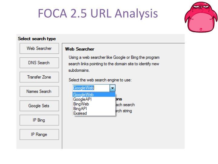 FOCA 2.5 URL