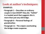 look at author s techniques1