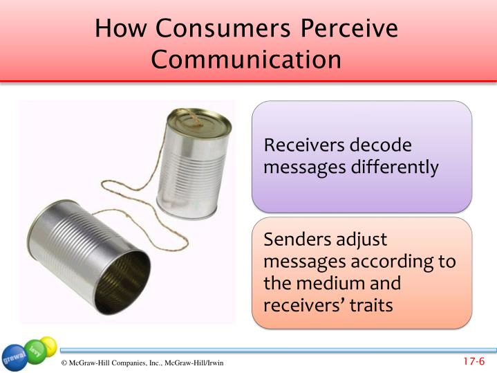 How Consumers Perceive Communication