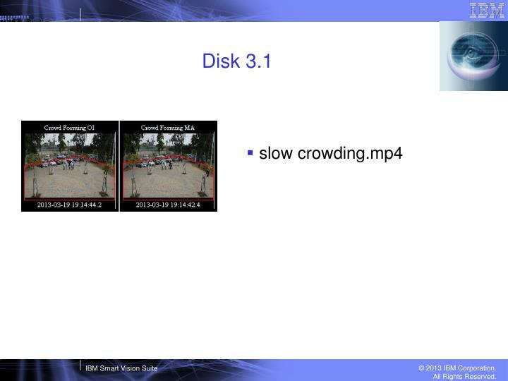 Disk 3.1