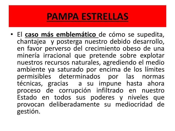 PAMPA ESTRELLAS