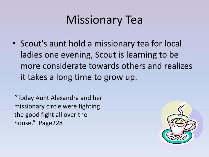 Missionary Tea