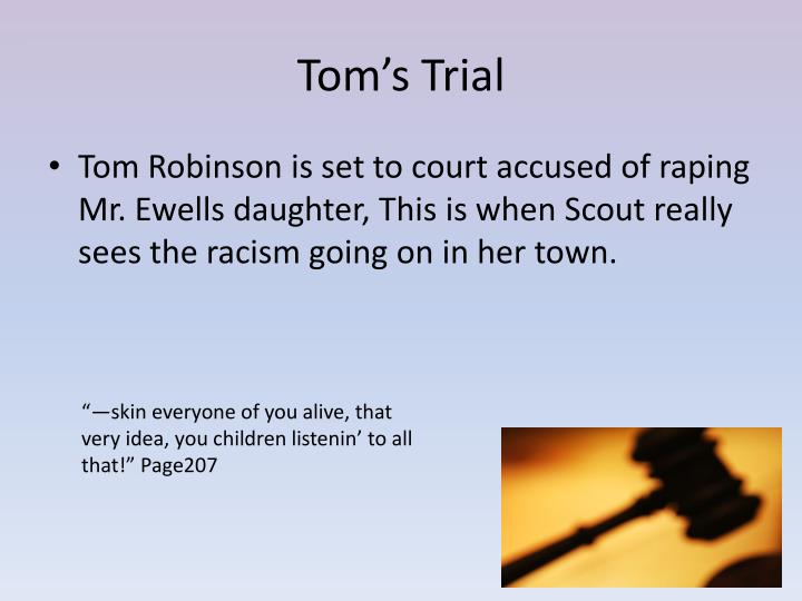 Tom's Trial