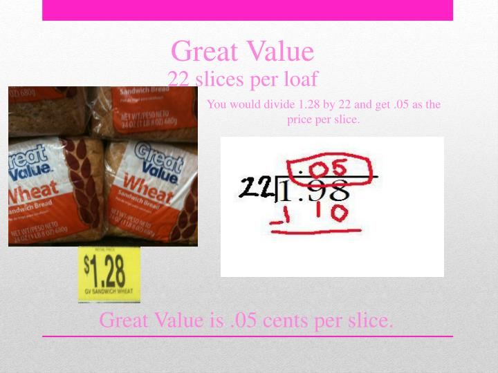 Great Value