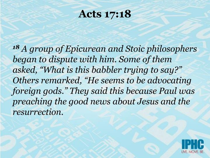 Acts 17 18