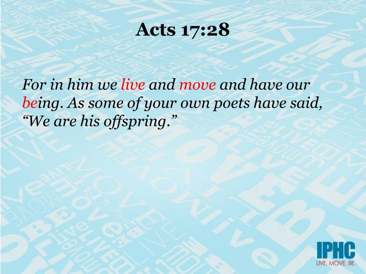 Acts 17:28