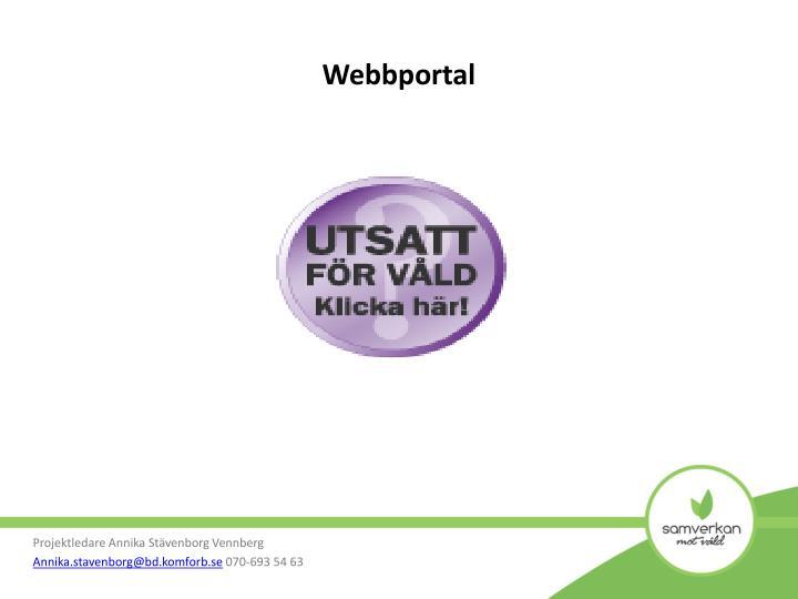 Webbportal