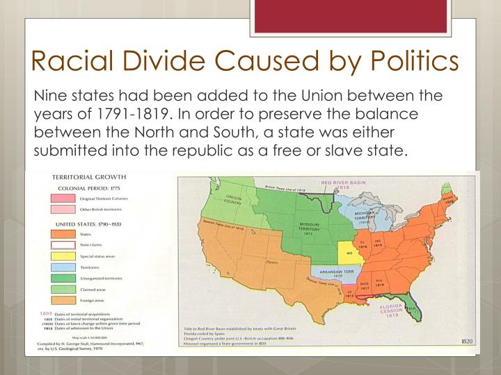Racial Divide Caused by Politics
