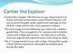 cartier the explorer
